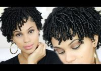 simple protective hairstyles for short natural hair silkup Styles For Short Natural Hair Inspirations