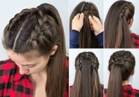 step step hair tutorials for long and medium hair Braid Hairstyles For Long Hair Step By Step Inspirations