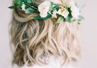stunning short hairstyles for your wedding day southern living Style Short Hair For Wedding Inspirations