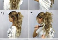 Stylish 10 easy and cute hair tutorials for any occassion Easy Hairstyles For Long Hair No Braids Ideas