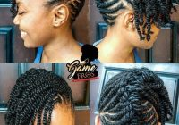 Stylish 10 holiday natural hairstyles for all length textures Natural Hair Braid Styles For Short Hair Inspirations