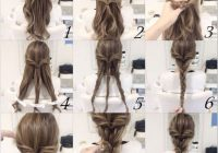 Stylish 10 quick and easy hairstyles step step hair styles Braid Hairstyles For Long Hair Step By Step Choices