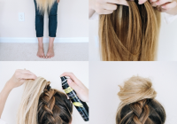 Stylish 14 ridiculously easy 5 minute braided hairstyles hair Braided Hairdos For Long Hair Ideas