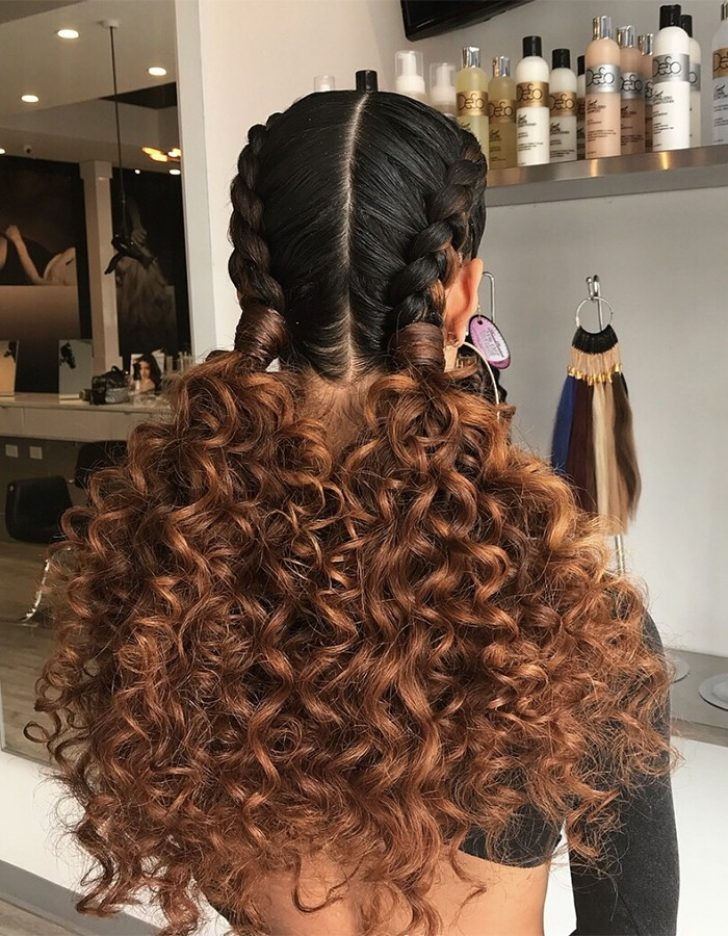 Permalink to Beautiful Braid Styles With Curly Hair