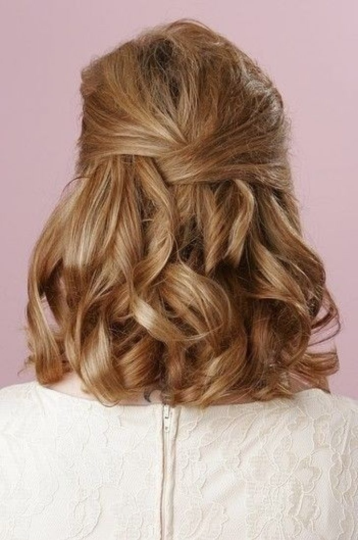 Permalink to Perfect Prom Hairstyles For Short Hair Down