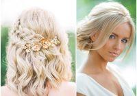 Stylish 18 stylish wedding hairstyles for short hair mrs to be Short Hairstyle Ideas For Weddings Ideas