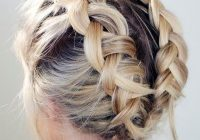 Stylish 19 cute braids for short hair you will love page 2 of 2 French Braid Ideas For Short Hair Inspirations