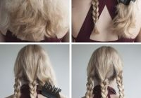 Stylish 20 cute and easy braided hairstyle tutorials Hair Braid Styles Tutorial Inspirations