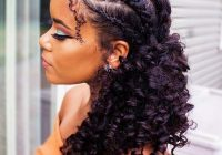 Stylish 21 easy ways to wear natural hair braids page 2 of 2 Braid Styles For Natural Curly Hair Ideas