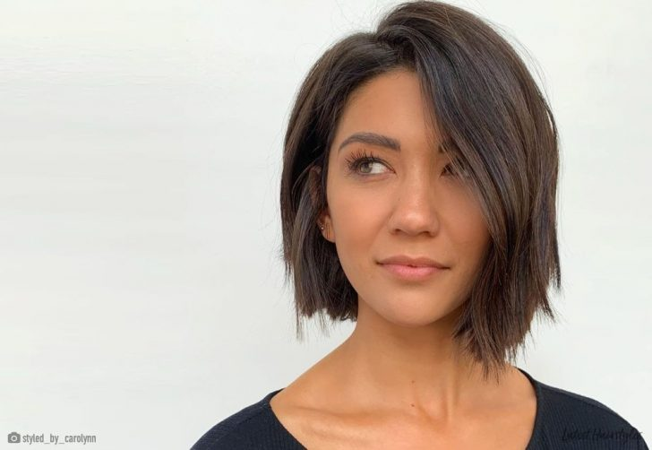 Permalink to 11   Short Hair Styles For Oval Faces Gallery