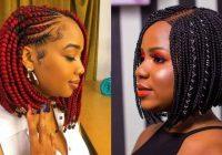 Stylish 25 elegant bob braids hairstyle to get fresh appearance Bob Braid Hair Styles Ideas