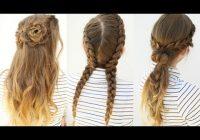 Stylish 3 pretty tumblr inspired hairstyles tumblr braids Braids Hairstyles Tumblr For School Ideas