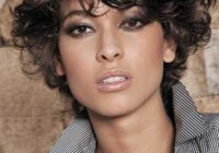 Stylish 30 easy hairstyles for short curly hair the trend spotter Hairstyle For Short Curly Hair Female Choices