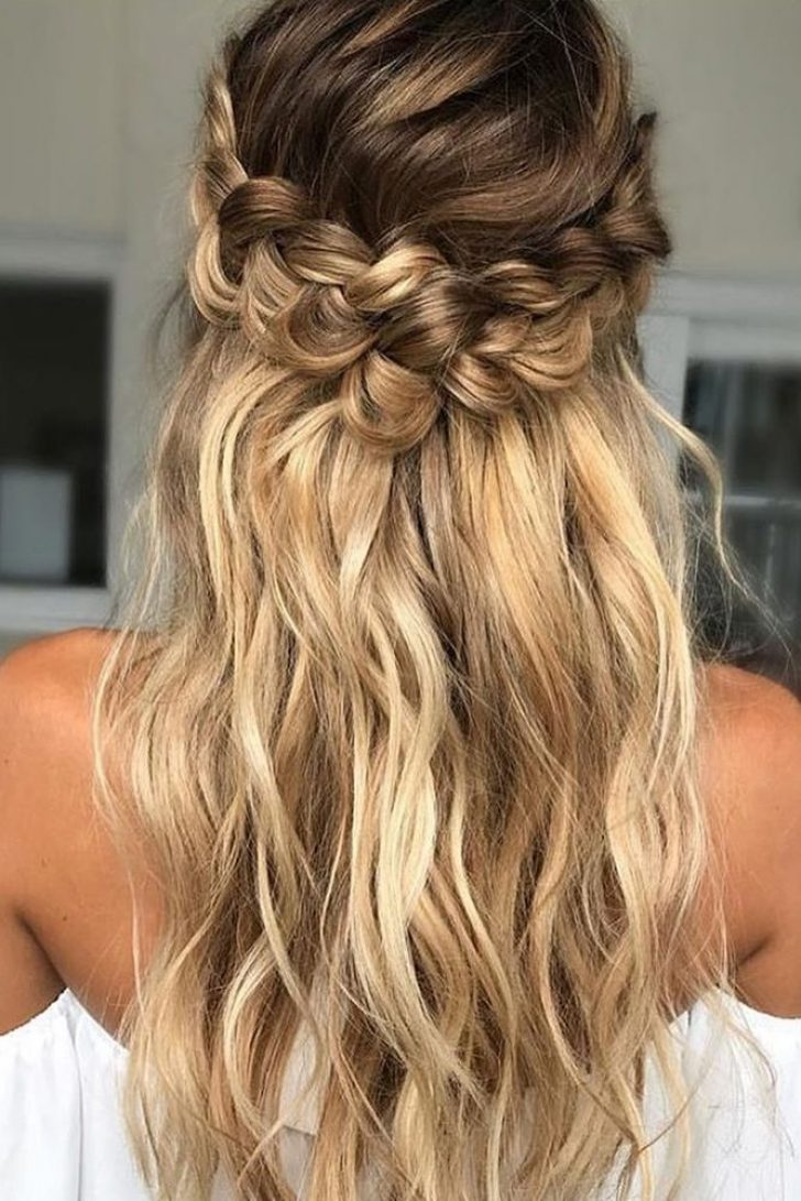 Permalink to 11   Braid Hairstyle For Bridesmaid Gallery