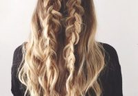 Stylish 4 things to do tonight to wake up with flawless hair Braid Hairstyle Tumblr Ideas