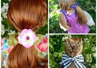 Stylish 40 cute beautiful american girl doll hairstyles 2020 guide Cool Hairdos For American Girl Dolls
