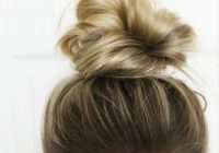 Stylish 40 updos for short hair your creative short hair Short Hair Bun Styles Ideas