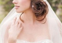 Stylish 42 dreamy wedding hairstyles with veil wedding forward Short Hair Wedding Styles With Veil Choices