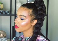 Stylish 5 fishtail braid tutorials for natural hair makeup Amazing Fishtail Braids Ever For African Hair Inspirations