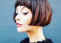 Stylish 50 cute short bob haircuts hairstyles for women in 2020 Short Bob Haircut With Bangs Inspirations