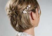 Stylish 50 superb wedding looks to try if you have short hair hair Style Short Hair For Wedding Ideas