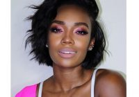 Stylish 6 short relaxed hair looks from instagram thatll make you Short Bob Hairstyles For Relaxed Hair Inspirations