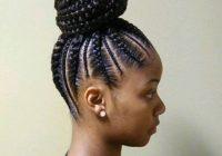 Stylish african american braided bun hairstyles natural hair Braided Updos African American Hair