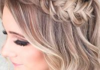 Stylish amazing prom hairstyles for short hair see more http Hair Styles For Short Hair For Prom Inspirations