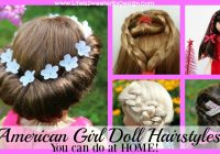 Stylish american girl doll hairstyles round up life is sweeter Cute Hairstyles For Your American Girl Doll Designs