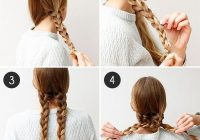 Stylish an easy braided hairstyle for any occasion more hair Easy Braided Updo For Medium Hair Inspirations