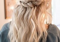 Stylish beautiful prom hairstyles thatll steal the night southern Prom Updos For Medium Hair With Braids Inspirations