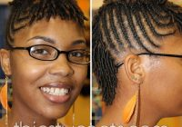 Stylish braid hairstyles for short hair Natural Hair Braid Styles For Short Hair Inspirations