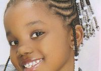 Stylish braided hairstyles for little black girls with short hair Little Girl Braids African American Designs