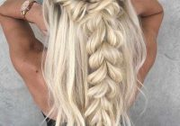 Stylish braided wedding hairstyles for long hair elisabetta sebastio Wedding Hairstyles For Long Hair Half Up Half Down With Braids Inspirations