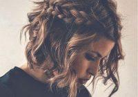 Stylish braids curly hair cute short hair tumblr hair image Cute Short Hair Tumblr Ideas
