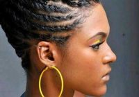 Stylish braids for black women with short hair African American Short Braided Hairstyles Ideas