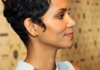 Stylish cute haircut idea short and spiky like halle berry glamour Halle Berry Short Haircut Choices