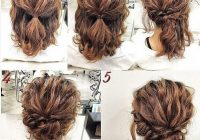 Stylish easy hairstyles for straight hair easy step step Cute Hairstyles For Short Straight Hair Easy Choices