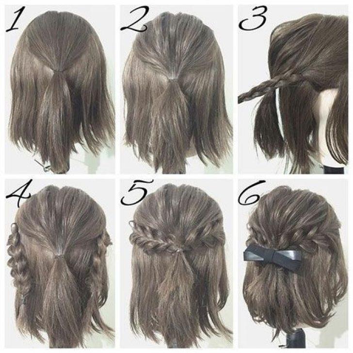 Permalink to 9 Elegant Simple Hairstyles For Very Short Hair Step By Step Gallery