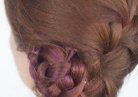 Stylish french braid bun hairstyle tutorial hair romance French Braid Bun Hairstyles Tutorial Ideas
