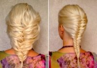Stylish french fishtail braid for short medium and long hair tutorial layered hairstyle for valentines day Fishtail Braid Ideas For Short Hair Inspirations