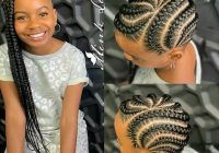 Stylish ghanaian hairstyles on instagram neatly braided African American Baby Braid Hairstyles Designs
