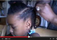 Stylish how to french braid african american hair easily French Braid Hairstyles African American Designs