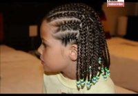 Stylish kids braided hairstyles creative idea for girls kids Natural Hair Braiding Styles For Kids Inspirations