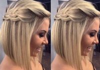 Stylish maid of honor wedding hair simple but cute hair styles Maid Of Honor Hairstyles For Short Hair Inspirations
