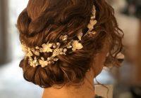 Stylish naturally curly hair wedding hair styles wedding make up Curly Wedding Hairstyles For Short Hair Ideas