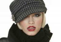 Stylish perfect hat for short hair hats for short hair hats short Hats For Short Hair Styles Inspirations