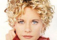 Stylish permed hairstyles short hair short curly haircuts curly Perm Styles For Short Hair Choices