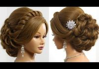 Stylish pin on alasadi with hairstyle no 1 Wedding Prom Hairstyle For Long Hair Updo Tutorial With Braided Flowers Ideas