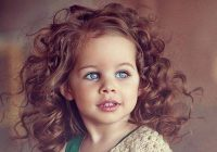 Stylish pin on hair Hairstyles For Short Curly Hair Little Girl Choices